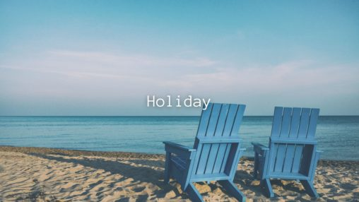 Holidayのサムネイル