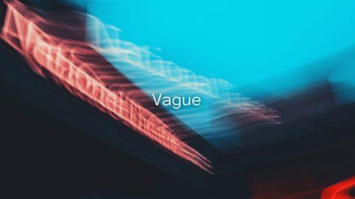 Vagueのサムネイル